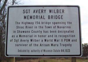 Avery Memorial Bridge Sign